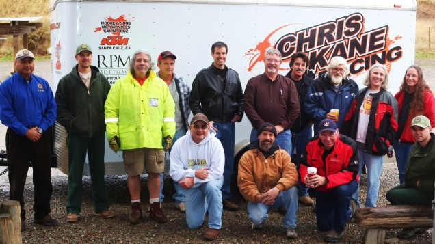 We all come together to save our state OHV park