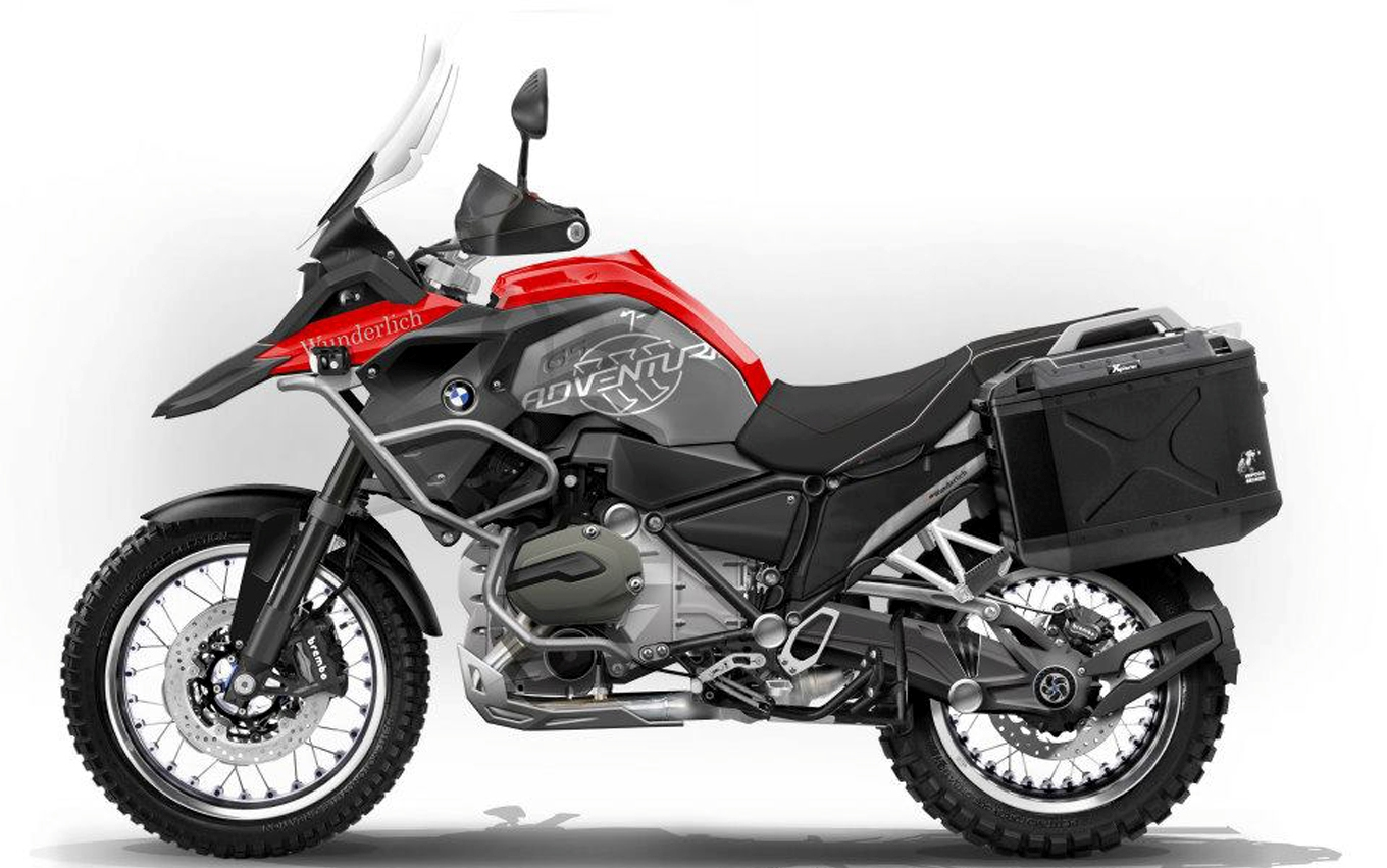 2014 BMW R 1200 GS Adventure Side View Carducci SC3 Adventure Dual Sport  Motorcycle Xl